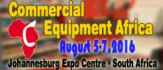 Commercial Equipment Africa  2016